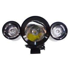 Jual Rajamotor Lampu Depan Variasi Led Projector 3 Warna U10 Universal Hitam Murah Indonesia