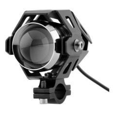 Diskon Rajamotor Lampu Depan Variasi Led Projector Transformer U5 Universal Hitam Rajamotor