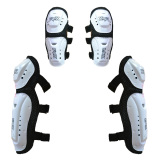 Harga Rajamotor Pelindung Lutut Dan Siku Model Fox Lancip Motocross Putih Terbaik