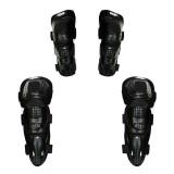 Review Rajamotor Pelindung Lutut Dan Siku Model Fox Titan Dott Motocross Hitam