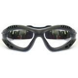 Beli Rajamotor Kacamata Goggles Retro Kaca Bening Hitam Dengan Kartu Kredit