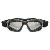 Model Rajamotor Kacamata Goggles Retro Kaca Riben Hitam Terbaru