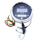 Ulasan Lengkap Rajamotor Scarlet Rpm Tachometer Sc8132 Dan Amper Bensin Digital