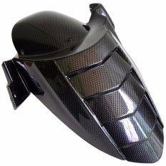 RajaMotor Spakbor Kolong Yamaha NMax Model Landak Besar - Hitam Carbon - Aksesoris Motor - Variasi