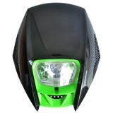 Toko Rajamotor Lampu Depan Motocross Model Klx Mission Monster Hijau Online Indonesia