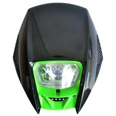 Harga Rajamotor Lampu Depan Motocross Model Klx Mission Monster Hijau Yang Bagus