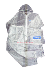 Harga Random House Raincity Jas Hujan Setelan Transparant Putih Branded
