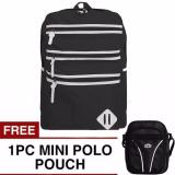 Diskon Ransel Oxford Backpack Free Mini Poloclub Pouch Selempang Branded