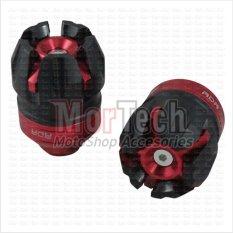 RDR Cover - Tutup - Jalu - Bandul as roda depan Scoopy FI 1505 merah