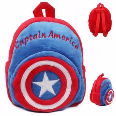 Rds Tas Sekolah Anak Pg Tk Lucu Karakter Kartun Captain America Murah