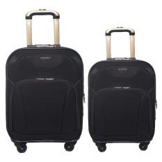 Jual Real Polo Tas Koper Softcase Set Expandable 4 Roda 590 18 22 Hitam Gratis Pengiriman Jabodetabek
