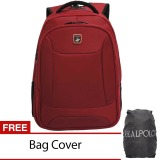 Beli Real Polo Ransel Laptop 5872 Expandable Merah Bag Cover Pakai Kartu Kredit