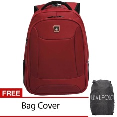 Toko Real Polo Ransel Laptop 5872 Expandable Merah Bag Cover Online Indonesia