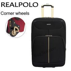 Jual Real Polo Tas Koper Softcase Expandable 2 Roda 569 20 Inchi Hitam Branded