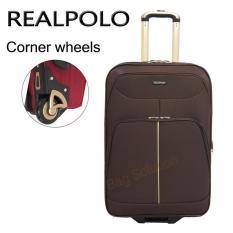 Katalog Real Polo Tas Koper Softcase Expandable 2 Roda 569 20 Inchi Coffee Terbaru