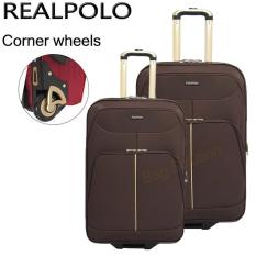 Beli Real Polo Tas Koper Softcase Set Expandable 2 Roda 569 20 24 Inchi Coffee Pake Kartu Kredit