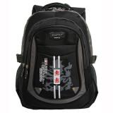Toko Real Polo Tas Ransel Kasual 6319 Backpack Daypack Hitam Real Polo Indonesia