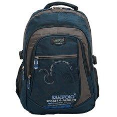 Ulasan Lengkap Real Polo Tas Ransel Kasual 6317 Backpack Daypack Biru Muda