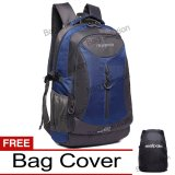 Diskon Produk Real Polo Tas Ransel Kasual Jumbo 6332 Backpack Xl Bonus Bag Cover Biru