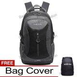 Jual Real Polo Tas Ransel Kasual Jumbo 6332 Backpack Xl Bonus Bag Cover Hitam Lengkap