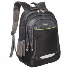 Spesifikasi Real Polo Tas Ransel Kasual Tas Pria Tas Wanita 6372 Backpack Daypack Hitam Online