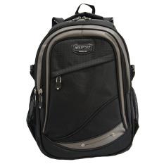 Real Polo Tas Ransel Kasual 6278 Backpack Daypack Hitam Real Polo Diskon 30