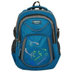 Jual Real Polo Tas Ransel Kasual Tas Pria Tas Wanita 6324 Bonus Bag Cover Biru C Real Polo Branded