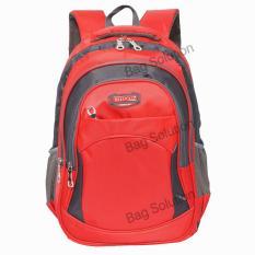 Diskon Real Polo Tas Ransel Kasual 6367 Backpack Daypack Merah Branded