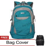 Jual Real Polo Tas Ransel Laptop Kasual 6362 Backpack Up To 15 Inch Bonus Bag Cover Hijau Grosir
