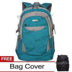 Jual Real Polo Tas Ransel Laptop Kasual 6362 Backpack Up To 15 Inch Bonus Bag Cover Hijau Indonesia