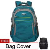 Real Polo Tas Ransel Laptop Kasual 6364 Backpack Up To 15 Inch Bonus Bag Cover Hijau Indonesia Diskon 50