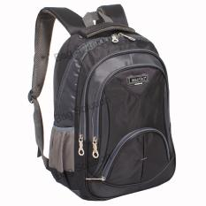 Real Polo Tas Ransel Kasual Tas Pria Tas Wanita 6369 Backpack Daypack Hitam Dki Jakarta