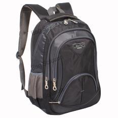Spesifikasi Real Polo Tas Ransel Kasual Tas Pria Tas Wanita 6369 Backpack Daypack Hitam Baru