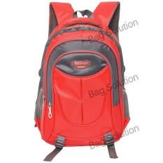 Toko Real Polo Tas Ransel Kasual Tas Pria Tas Wanita 6371 Backpack Daypack Merah Real Polo Dki Jakarta