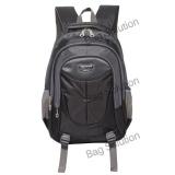 Jual Real Polo Tas Ransel Kasual Tas Pria Tas Wanita 6371 Backpack Daypack Hitam Branded
