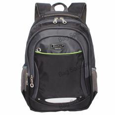 Review Real Polo Tas Ransel Kasual Tas Pria Tas Wanita 6372 Backpack Daypack Hitam Terbaru