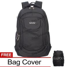 Spesifikasi Real Polo Tas Ransel Laptop Kasual 6365 Backpack Up To 15 Inch Bonus Bag Cover Hitam Yang Bagus