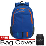 Jual Real Polo Tas Ransel Laptop Kasual 6357 Backpack Up To 15 Inch Bonus Bag Cover Biru Grosir