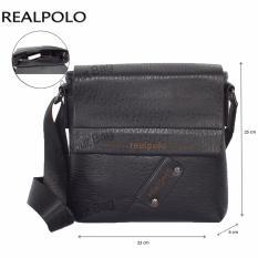 Toko Real Polo Tas Selempang Kulit Sintetis 9305 Hitam Online
