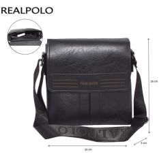 Diskon Real Polo Tas Selempang Kulit Sintetis 9310 Hitam Real Polo Dki Jakarta