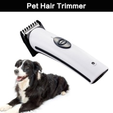 Rechargeable Cat Dog Hair Trimmer Electrical Pet Hair ClipperRemover Cutter Dog Grooming Pet Product Haircut Machine