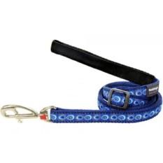 Merah Dingo Designer Dog Lead,, Cosmos Dark Blue-Intl