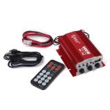 Harga Merah Mobil Sepeda Motor Mini Mp3 Stereo Hi Fi Penguat Audio Dengan Remote Kontrol Asli Bolehdeals