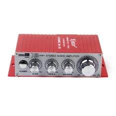 Promo Merah Mobil Mini Sepeda Motor Mp3 Mp4 Hi Fi Stereo Penguat Audio Dengan Usb Output Murah
