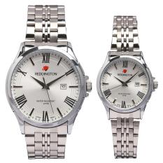 Beli Reddington Date Jam Tangan Pasangan Silver Plat Putih Strap Stainless Steel Rd 327 Ca Kredit Jawa Barat
