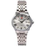 Jual Reddington Date Jam Tangan Wanita Silver Plat Putih Strap Stainless Steel Rd 327 Cb Original