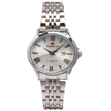 Reddington Date Jam Tangan Wanita Silver Plat Putih Strap Stainless Steel Rd 327 Cb Promo Beli 1 Gratis 1