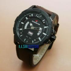 Reddington Jam Tangan Pria Eleghan Leather Strap R3047 A4 Di Indonesia
