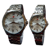 Diskon Reddington Jam Tangan Pria Wanita Couple Silver Stainless Rd 8405 Branded