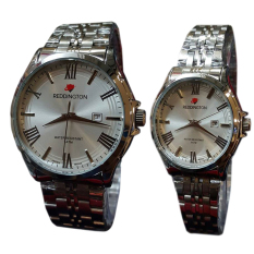 Tips Beli Reddington Jam Tangan Pria Wanita Couple Silver Stainless Rd 8405